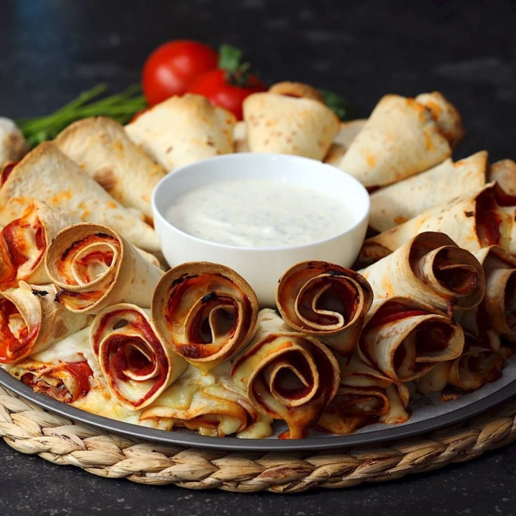 Pizza Cone Dip Ring - Recipes Using Cooking Rings