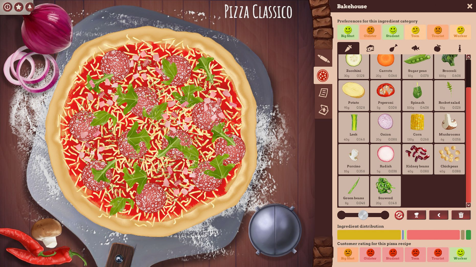 Pizza Connection 11 - Pizza Creator bei Steam - Recipes Pizza Tycoon