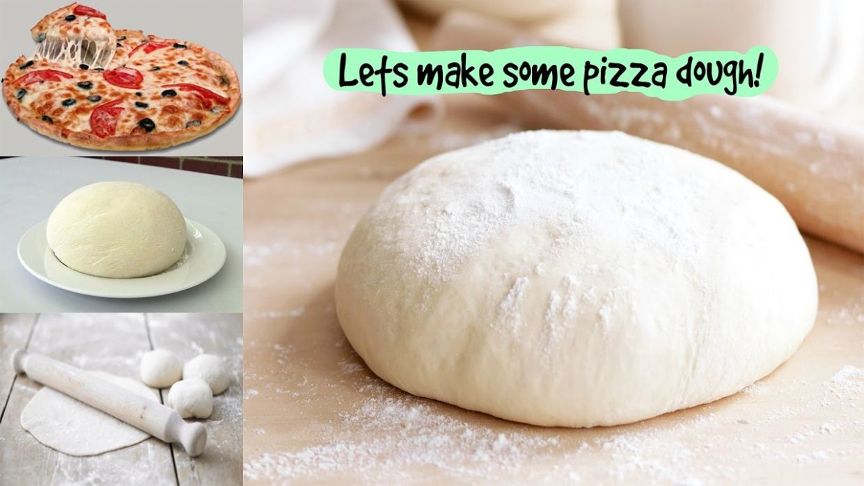 Pizza Dough Recipe  Without Yeast and Milk Pizza Dough How to Make Pizza  Dough Without Yeast & Eggs - Pizza Recipes Without Yeast