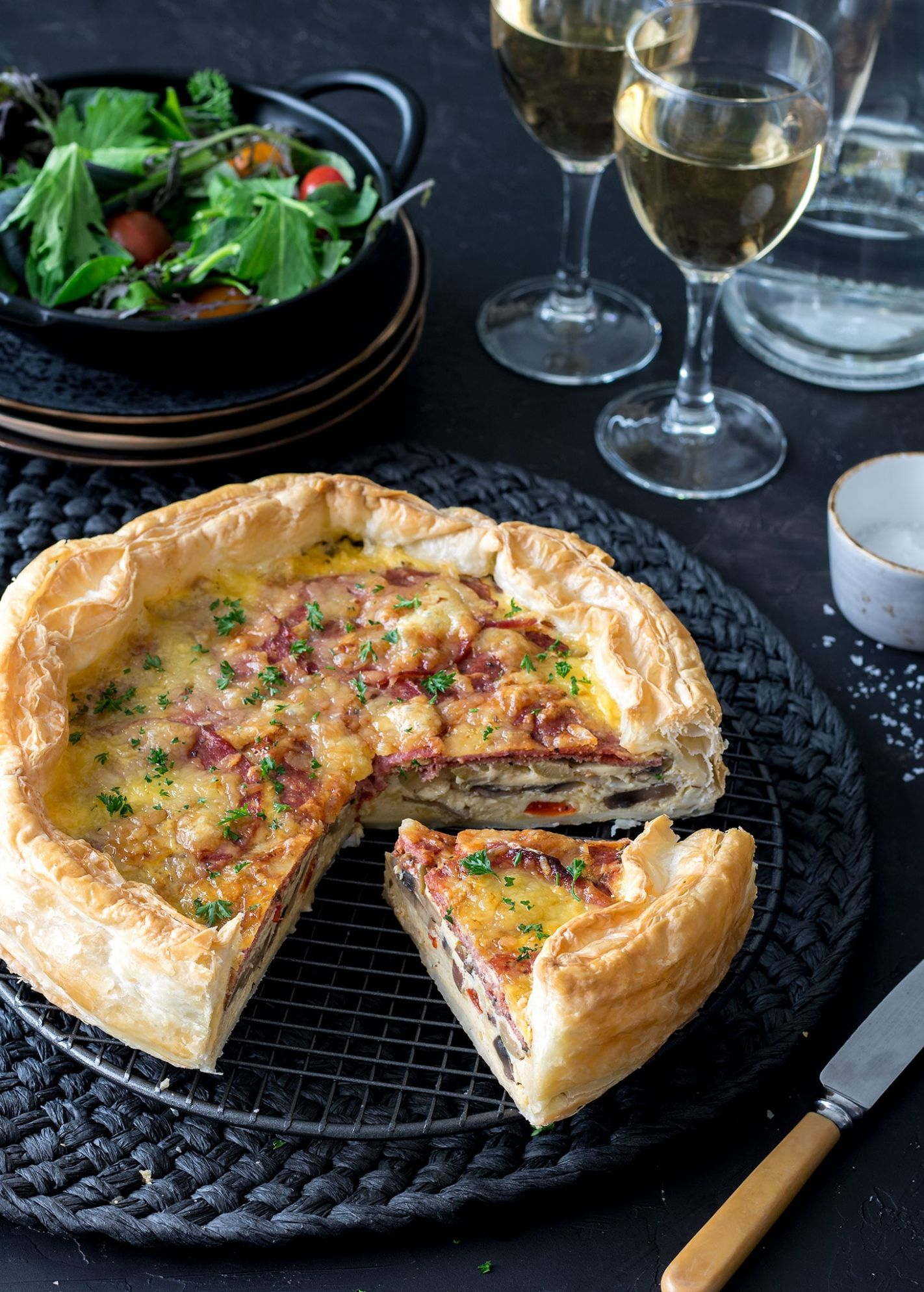 PIZZA QUICHE - Pizza Quiche Recipes