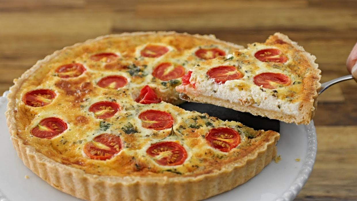Pizza Quiche Recipe - Pizza Quiche Recipes