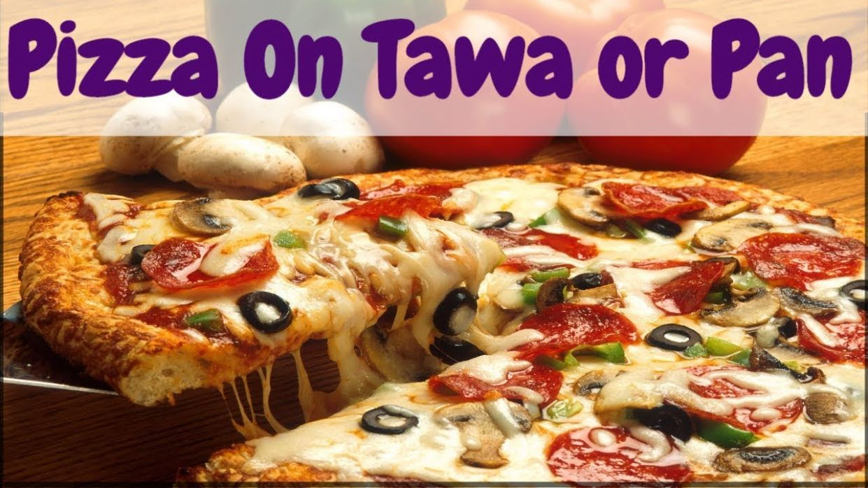 Pizza Recipe in Hindi | Homemade Quick and Easy Tawa Pizza Recipe without  Oven & Yeast Free in Hindi - Pizza Recipes Hindi Mai