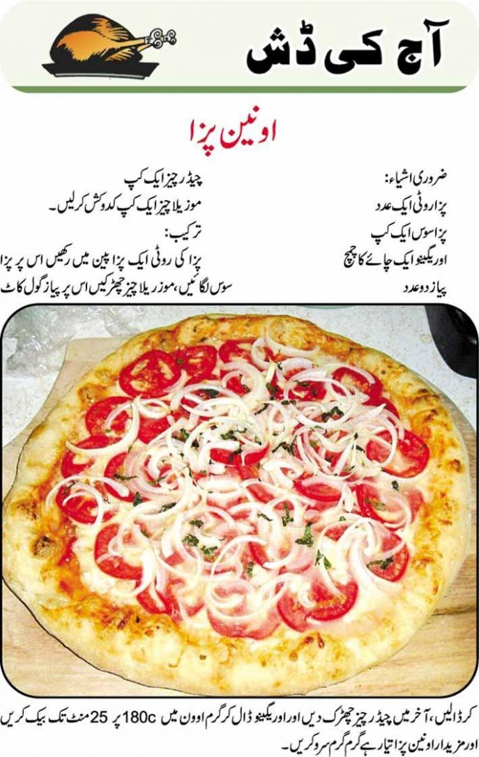 Pizza Urdu Recipes Fast Food für Android - APK herunterladen