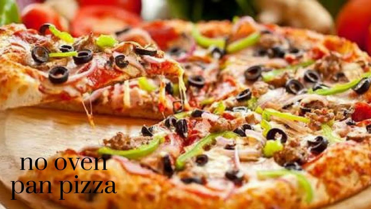 Pizza without Oven| chicken Pizza| Pizza in Kadhai|Homemade Pizza Dough &  Sauce in malayalam - Pizza Recipes Malayalam
