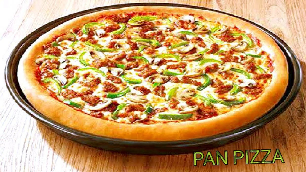 Pizza Without Oven Recipe-Vegetables Pan Pizza-Tawa Pizza Recipe-Pan  Pizza-Without Yeast & Oven - Pizza Recipes In Urdu Without Oven