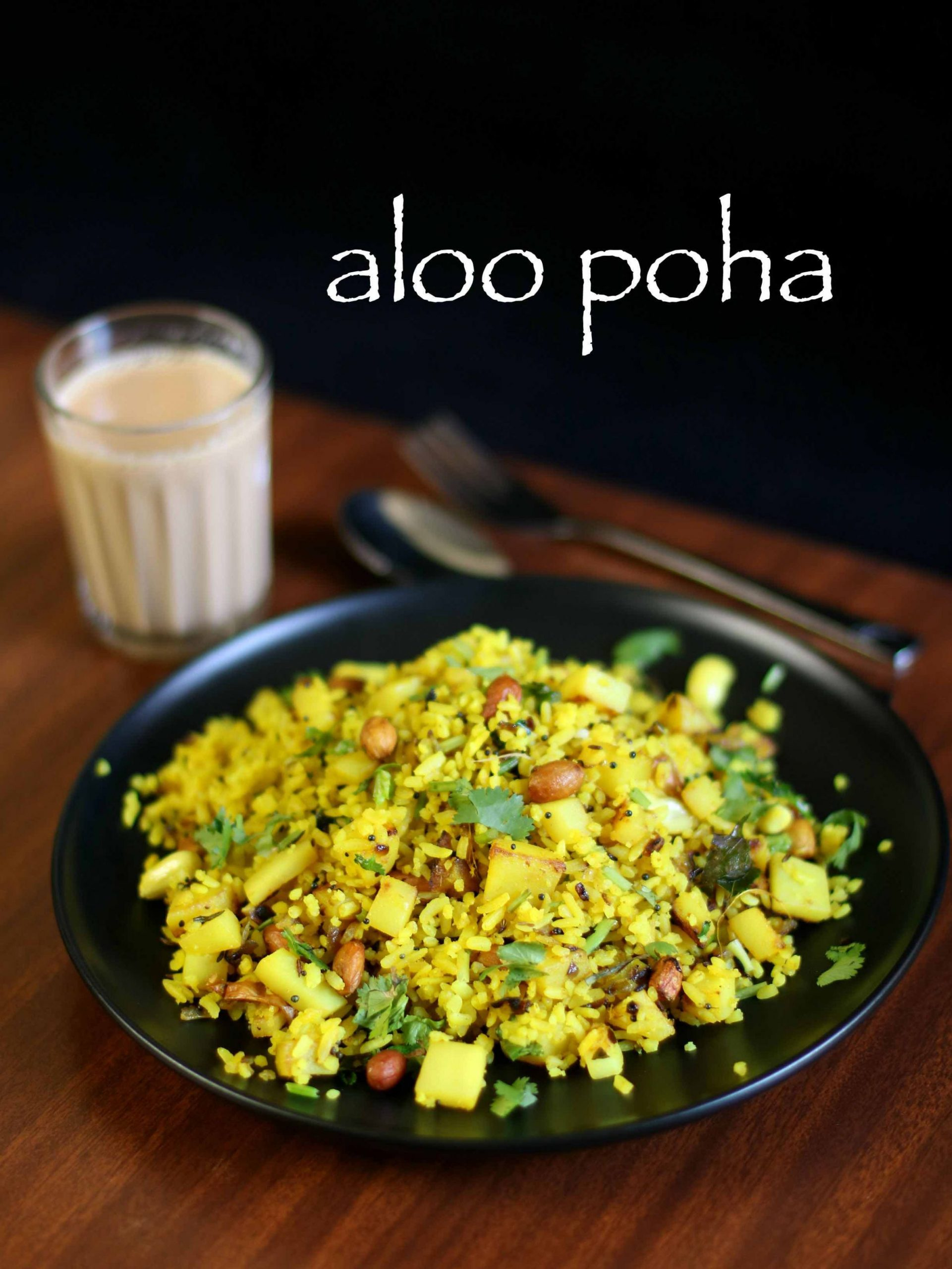 poha recipe | aloo poha recipe | aloo kandha poha | batata poha recipe - Breakfast Recipes Using Poha