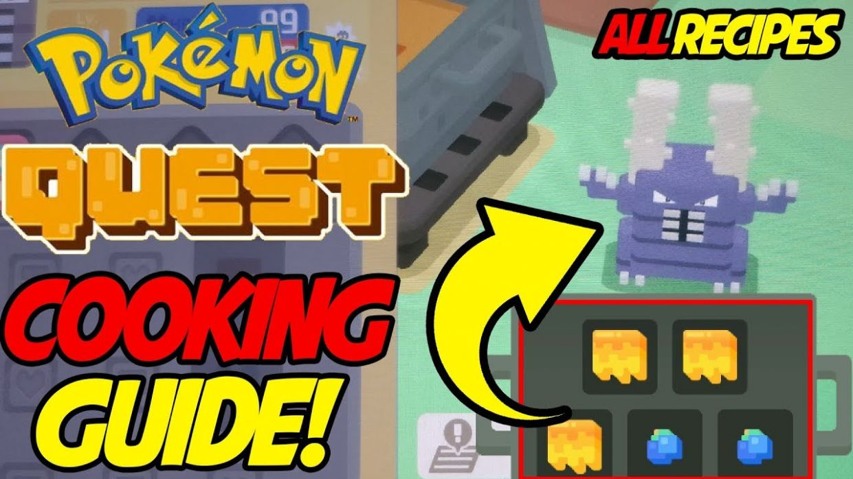 Pokemon Quest ALL RECIPES! Best Cooking Guide for Pokemon Quest!