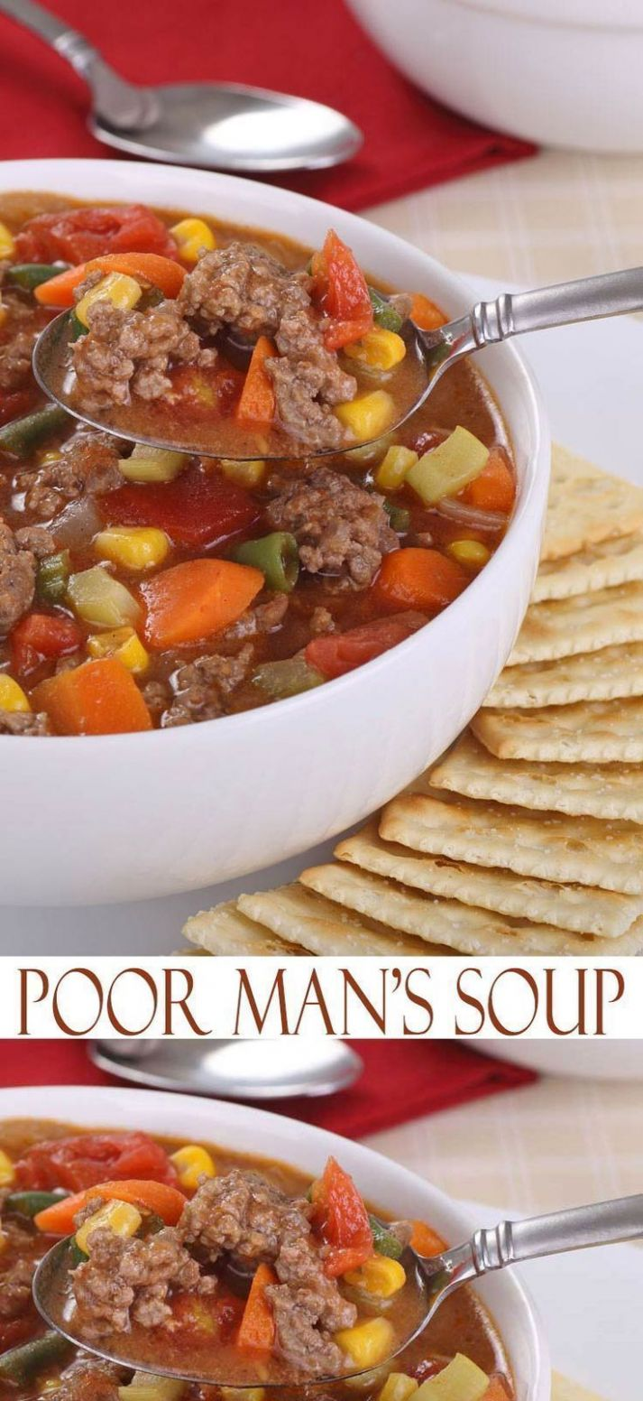 Poor Man's Soup - Soup Recipes On A Budget