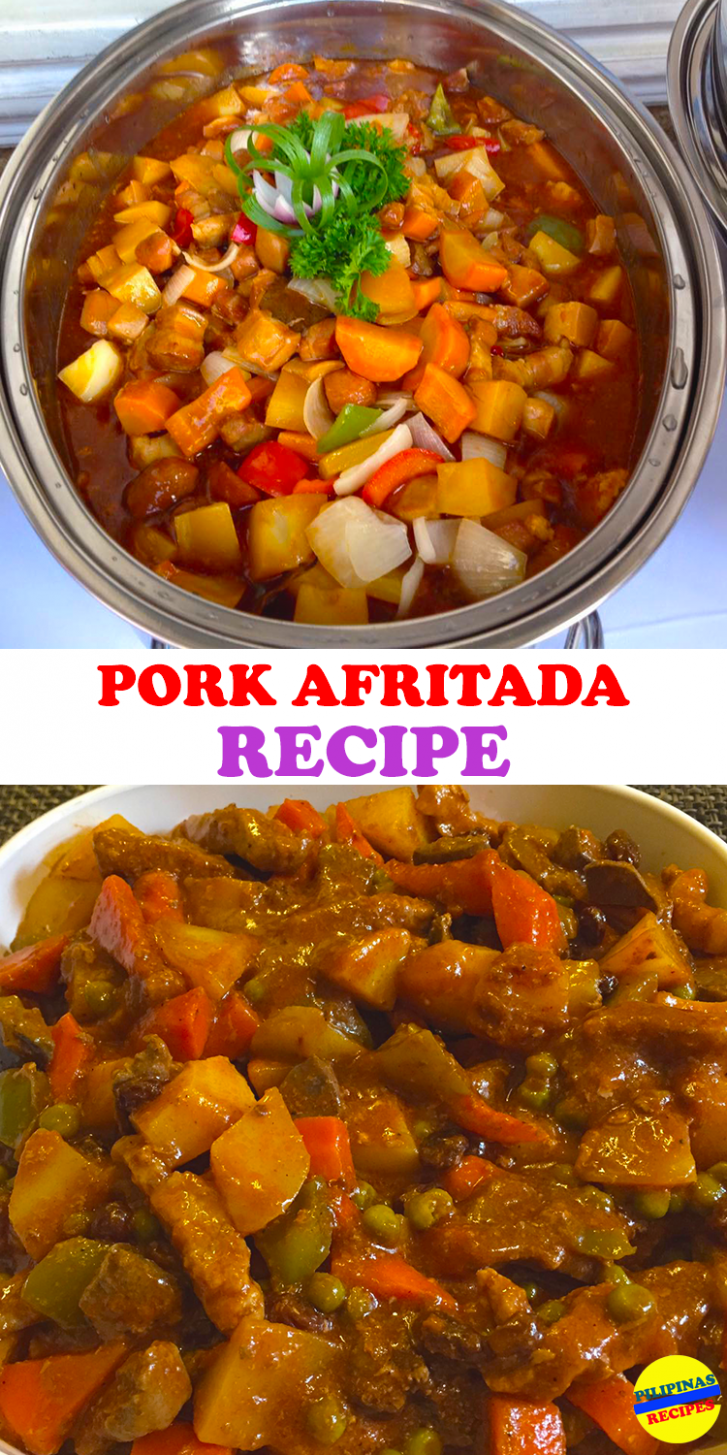 Pork Afritada - Recipe Pork Afritada