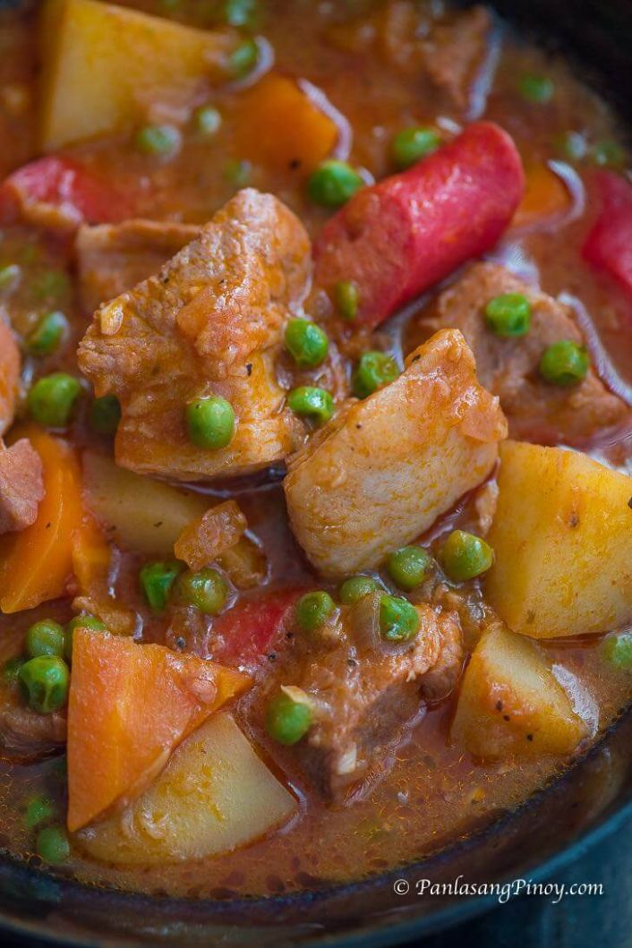 Pork Afritada Recipe