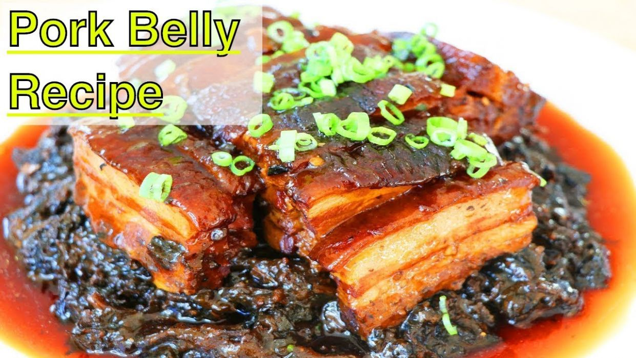 Pork Belly with Preserved Mustard Greens | CiCi Li - Asian Home Cooking  Recipes - Belly Pork Recipes Quick Cook