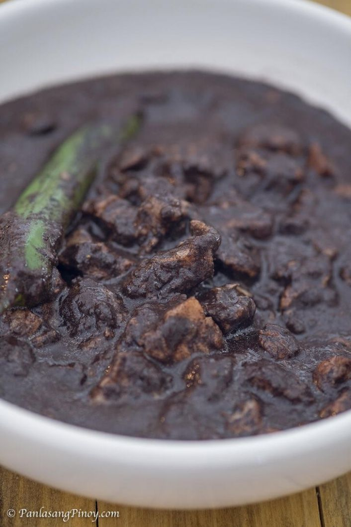 Pork Dinuguan Recipe - Panlasang Pinoy - Recipe Pork Dinuguan