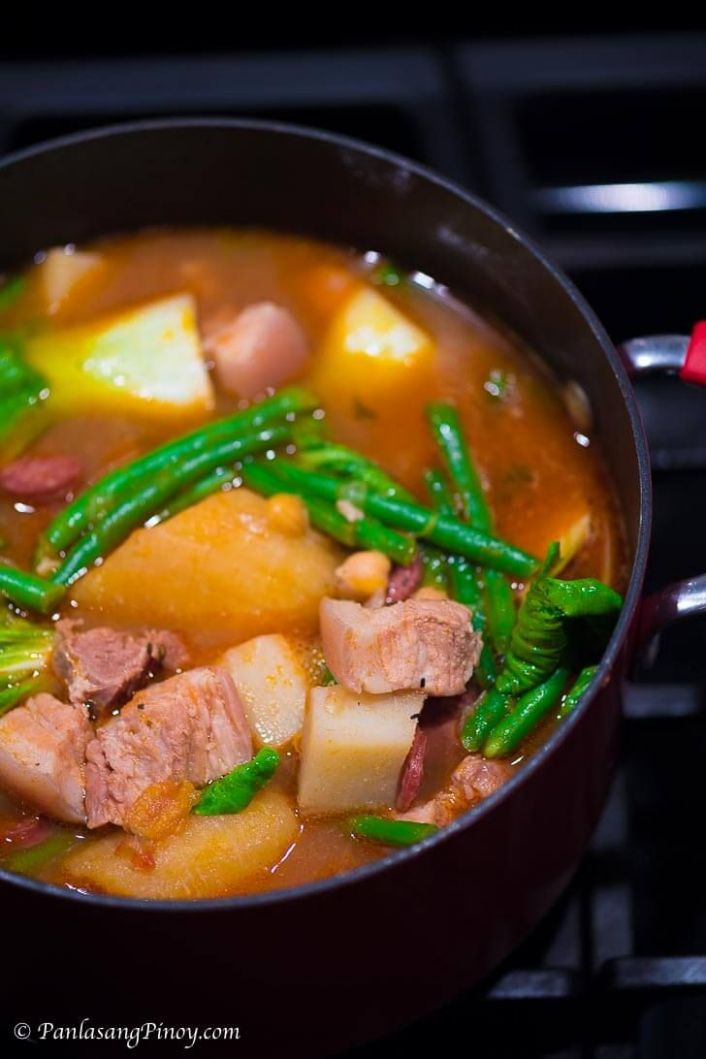 Pork Pochero - Recipe Pork Pochero