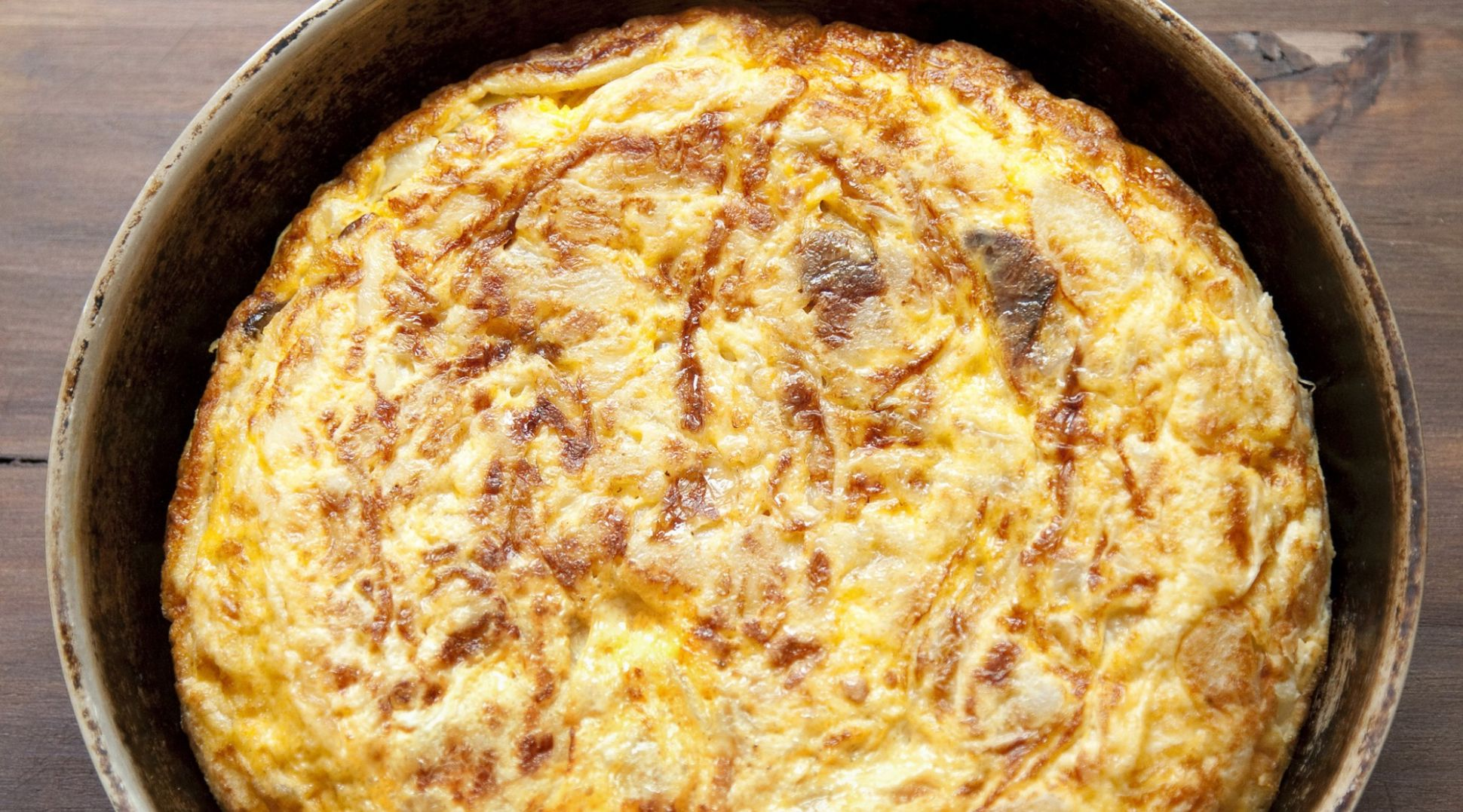 Potato and Onion Egg Tortilla