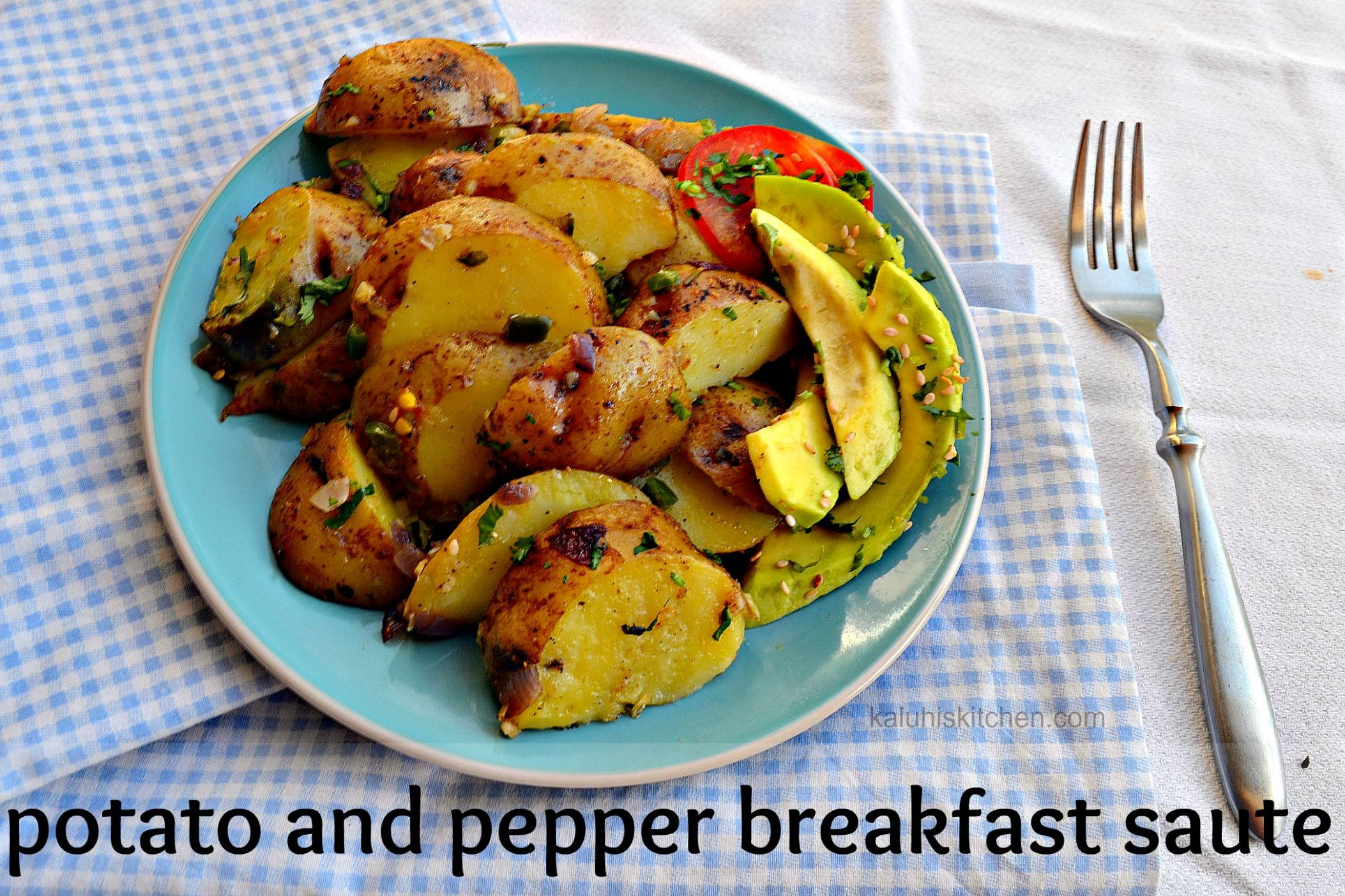 Potato and Pepper Breakfast Saute