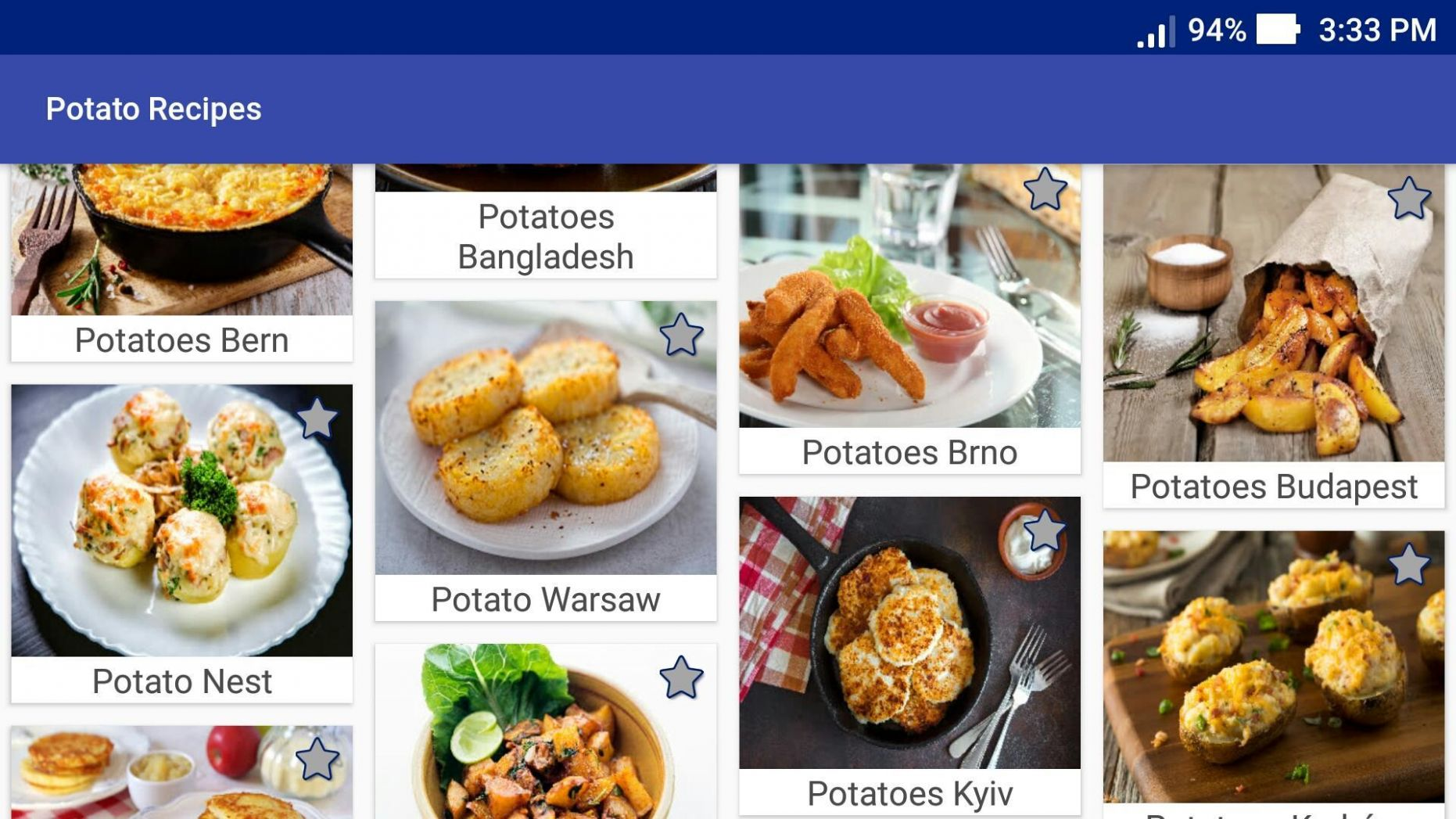 Potato Recipes for Android - APK Download