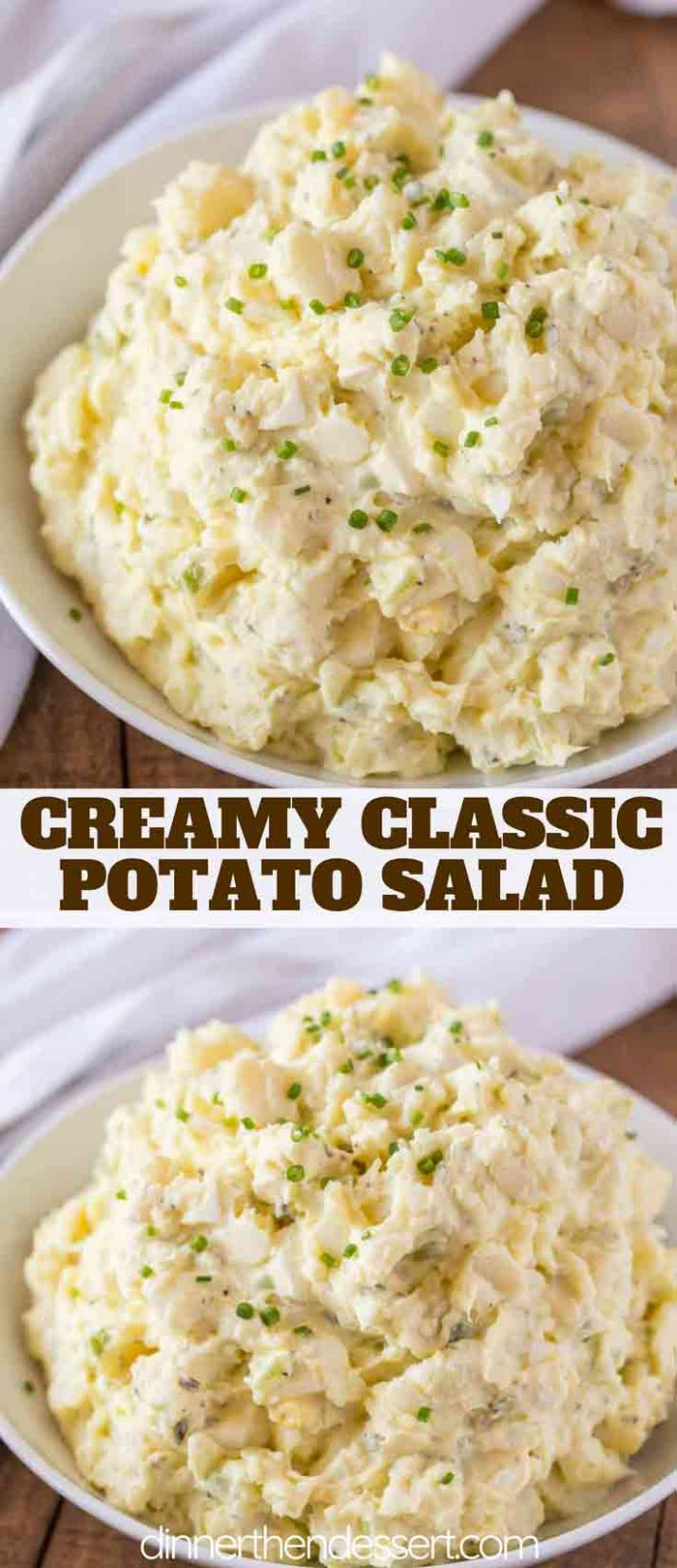 Potato Salad - Dinner, then Dessert