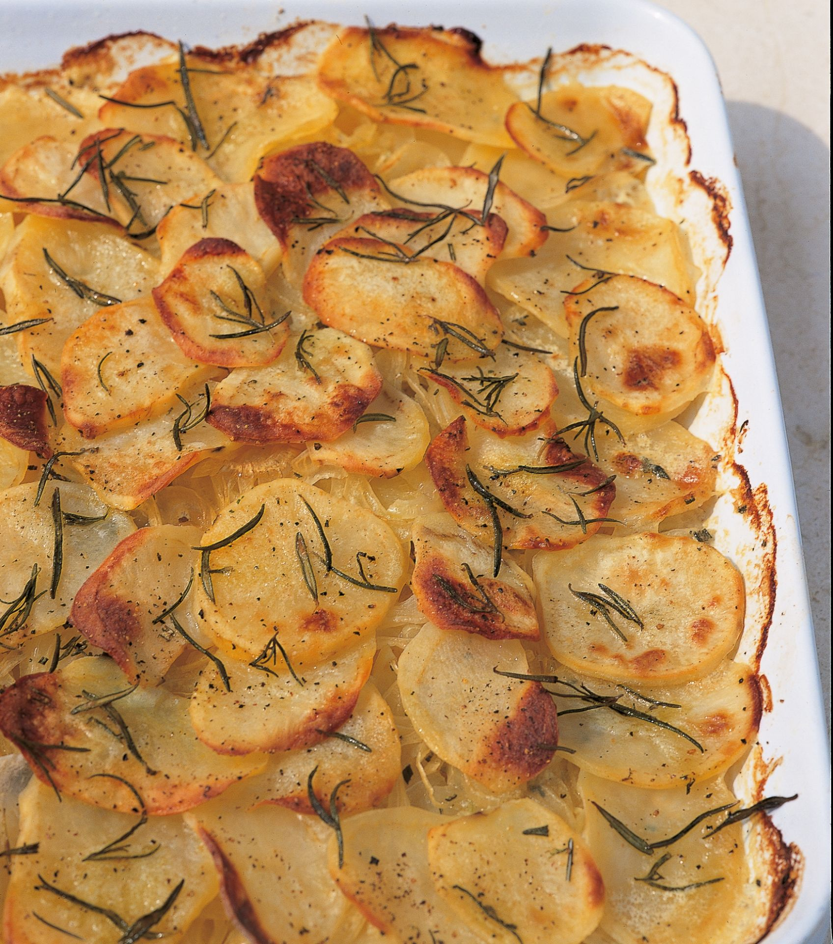 Potatoes Boulangeres with Rosemary