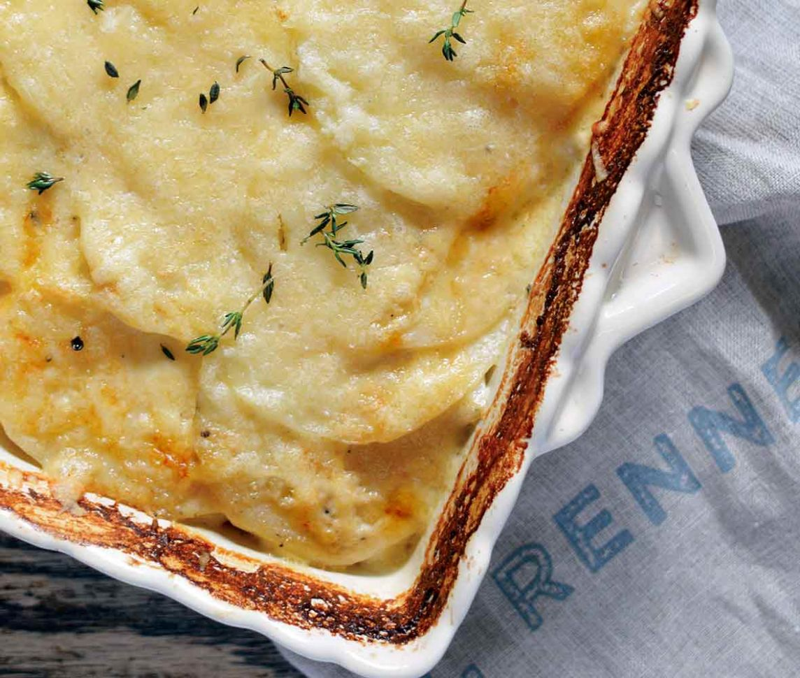 Potatoes Dauphinoise