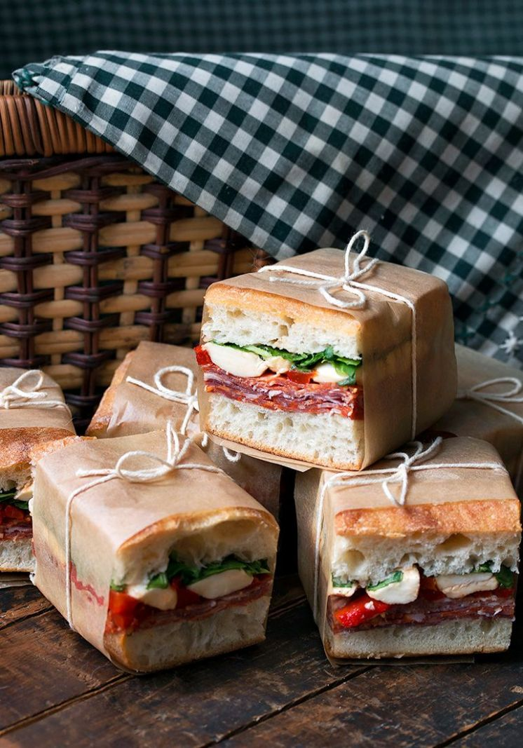 Pressed Italian Picnic Sandwiches - Seasons and Suppers - Sandwich Recipes That Travel Well