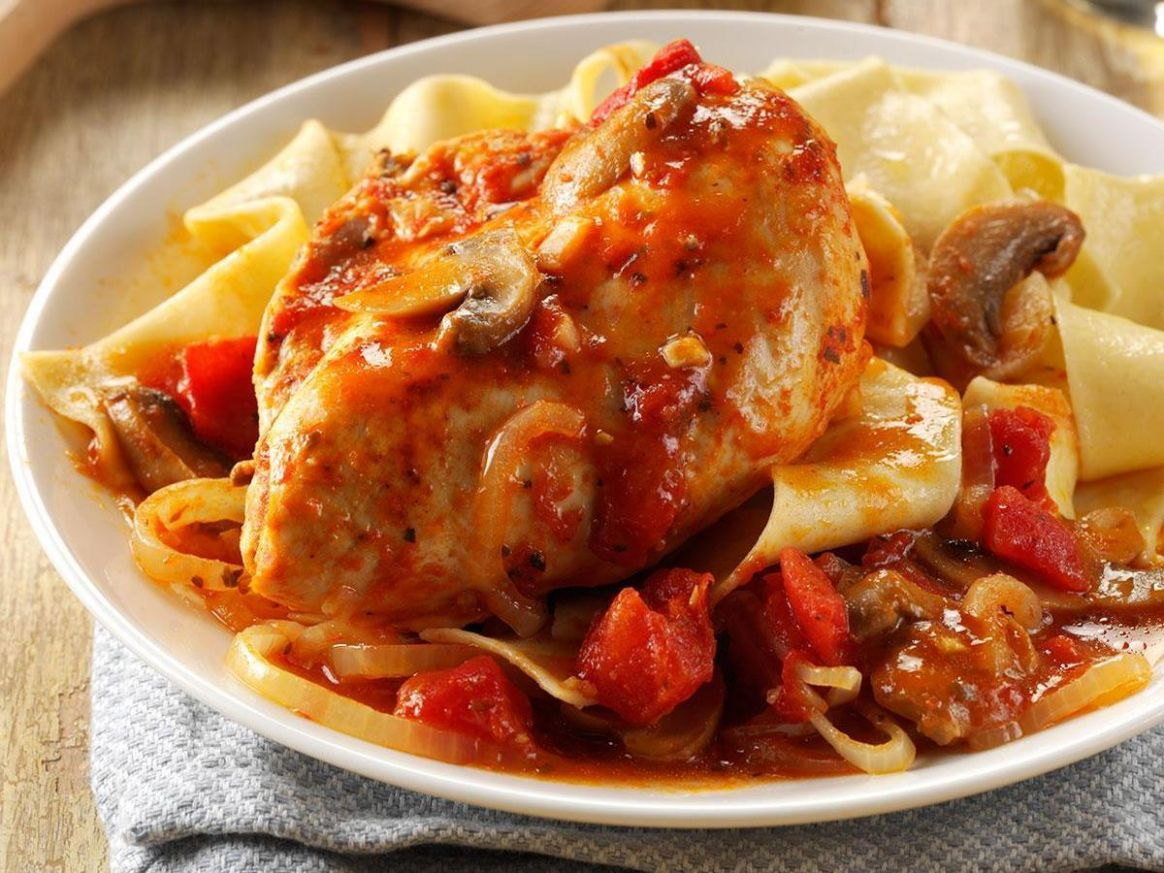 Pressure-Cooker Chicken Cacciatore - Recipes Chicken In Pressure Cooker