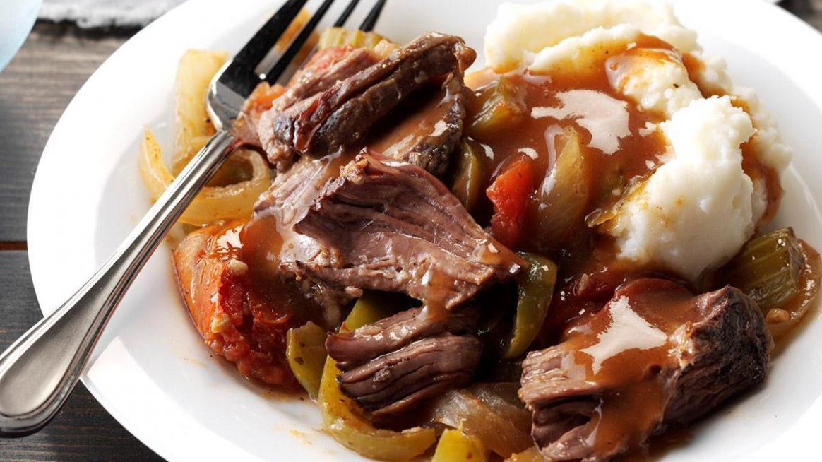 Pressure-Cooker Melt-in-Your-Mouth Chuck Roast - Beef Recipes In Pressure Cooker