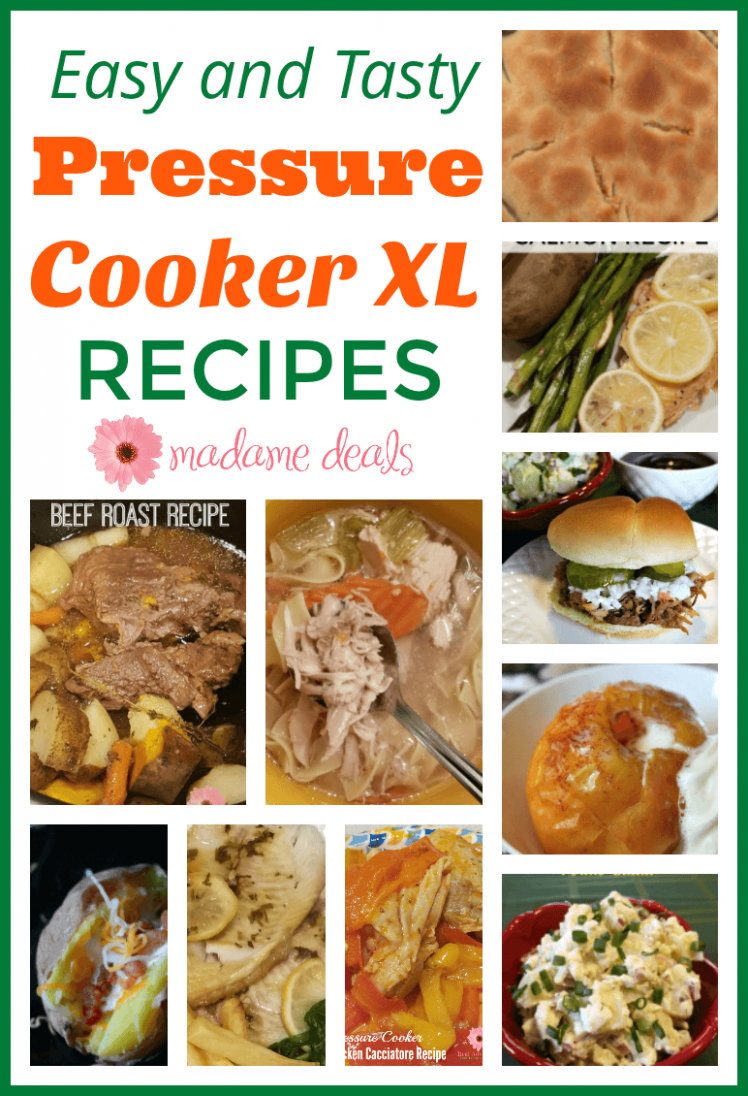 Pressure Cooker XL Recipes - Real Advice Gal - Recipes Cooking Xl