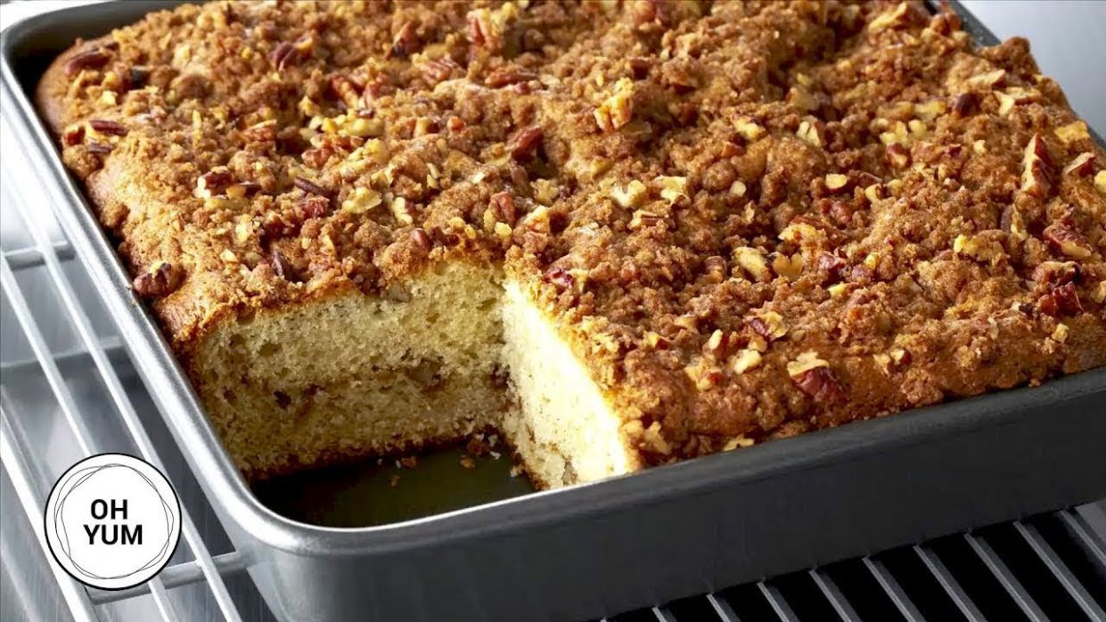 Professional Baker's Best Coffee Cake Recipe!