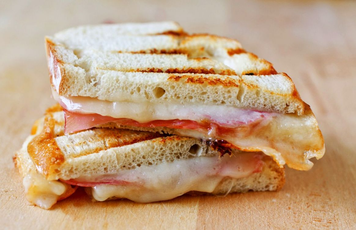 Prosciutto, Manchego and Fig Jam Sandwich - Partial Ingredients