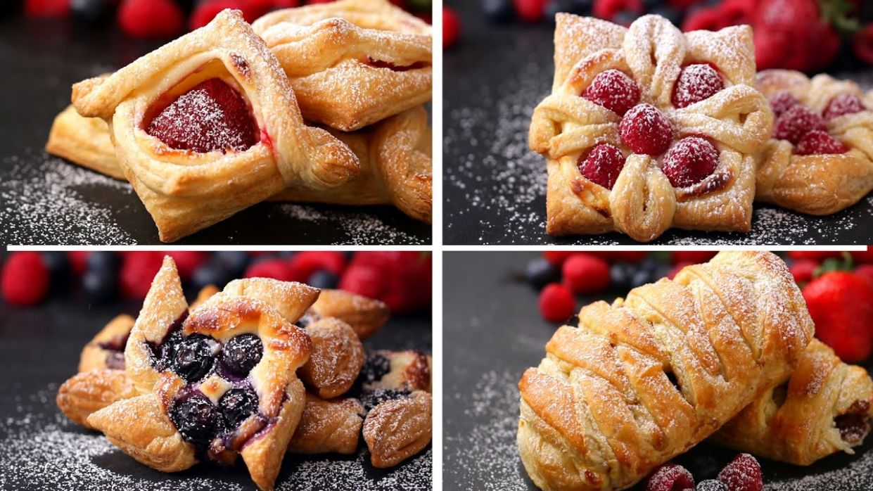 Puff Pastry 8 Ways