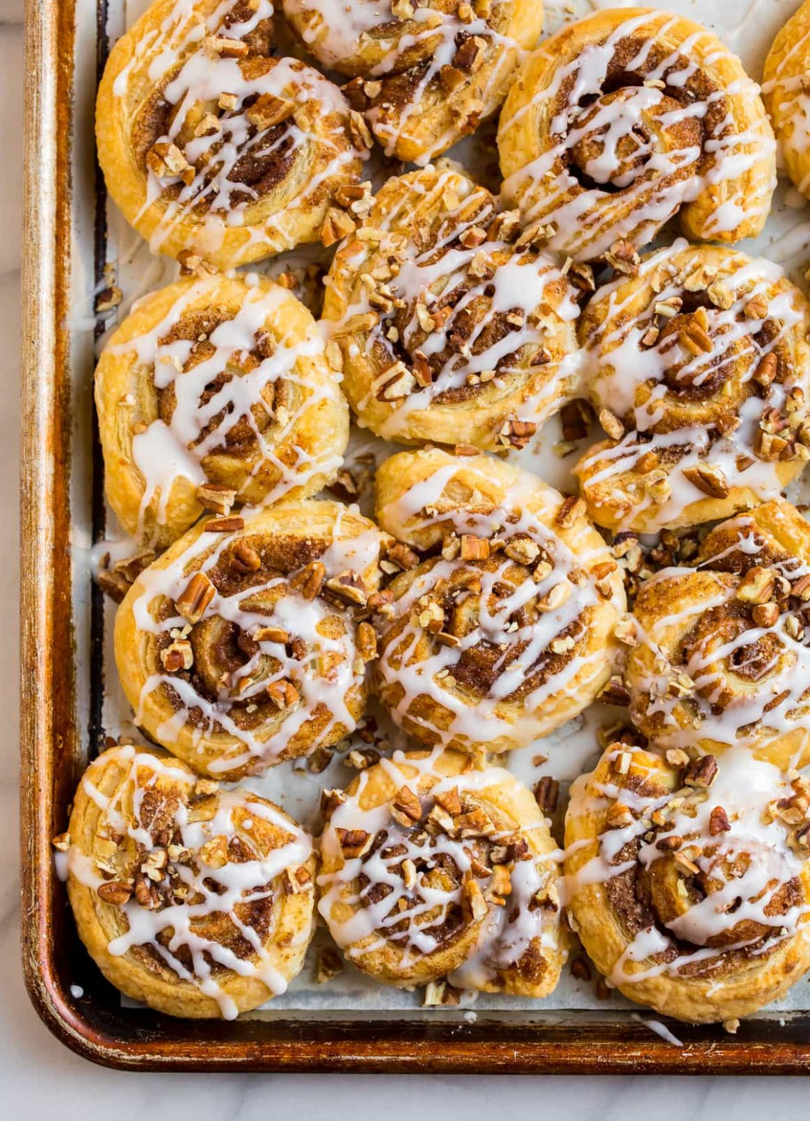 Puff Pastry Cinnamon Rolls - Simple Recipes Using Puff Pastry