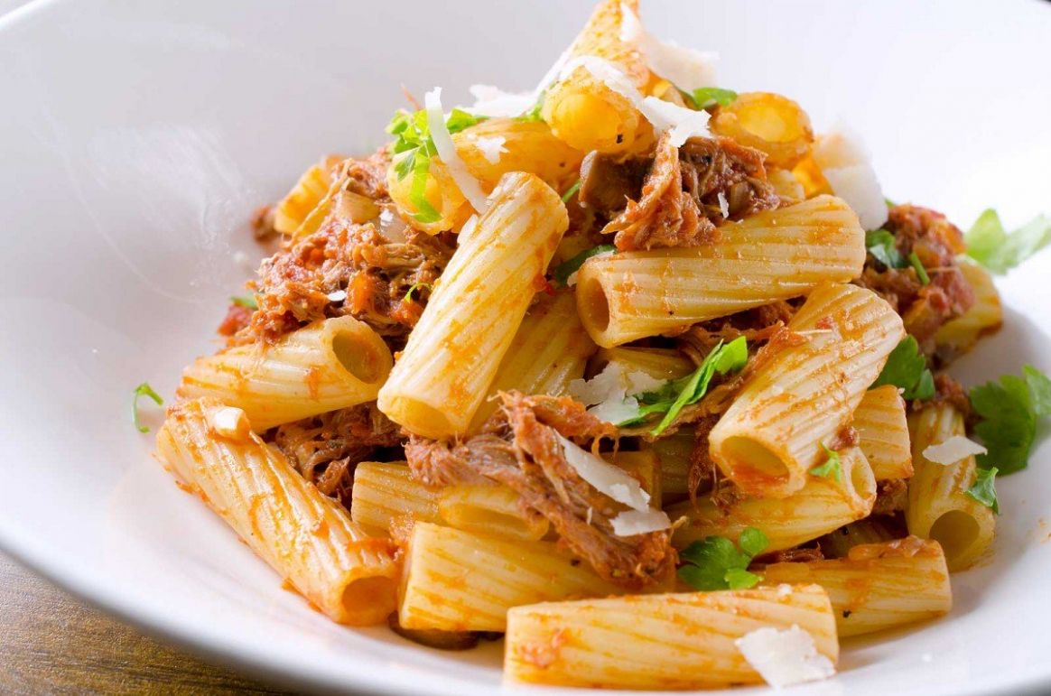 Pulled Pork Rigatoni Recipe - Recipe Pork Pasta