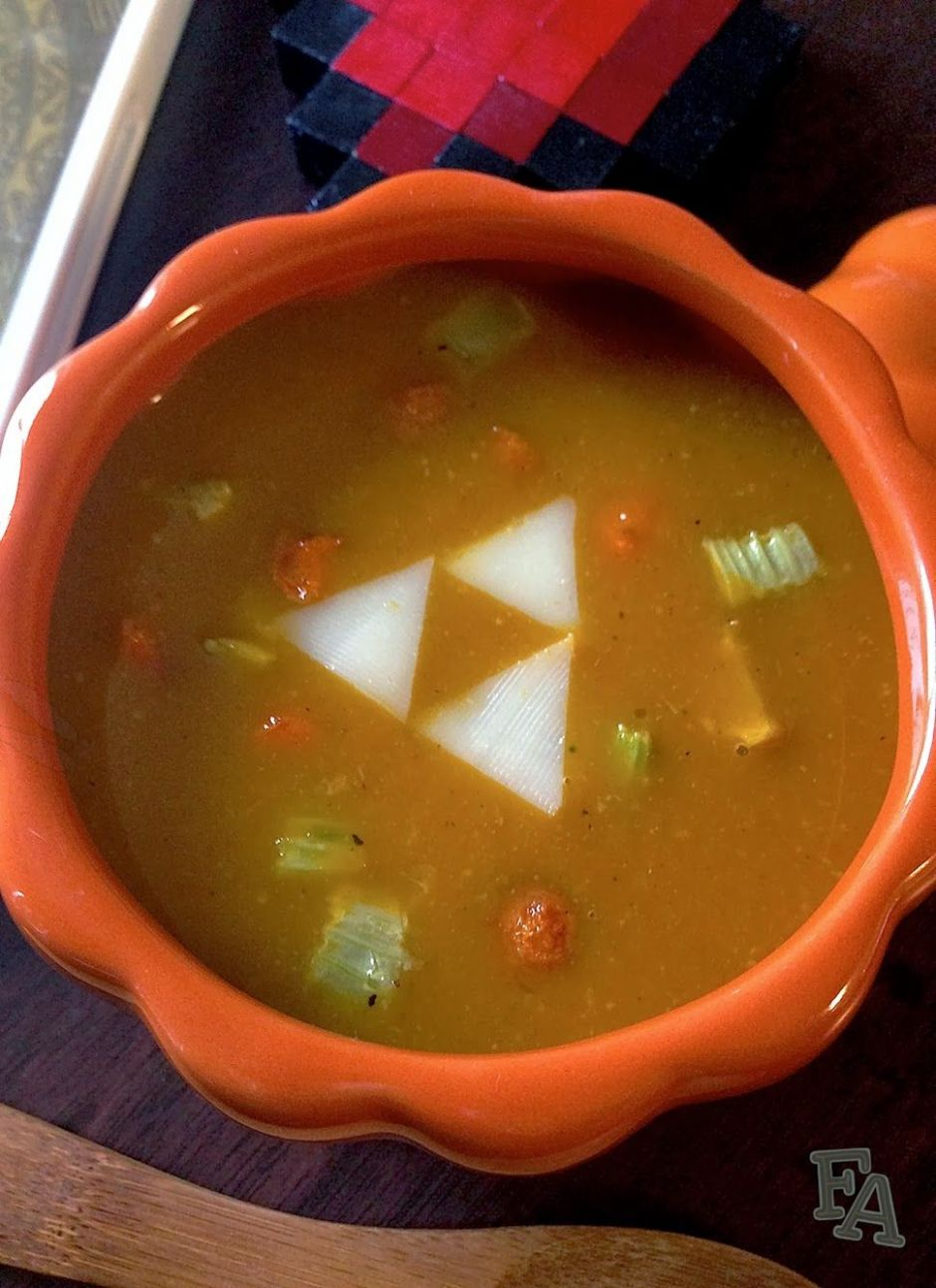 Pumm's Pumpkin Soup | Pumpkin soup, Legend of zelda, Skyrim food