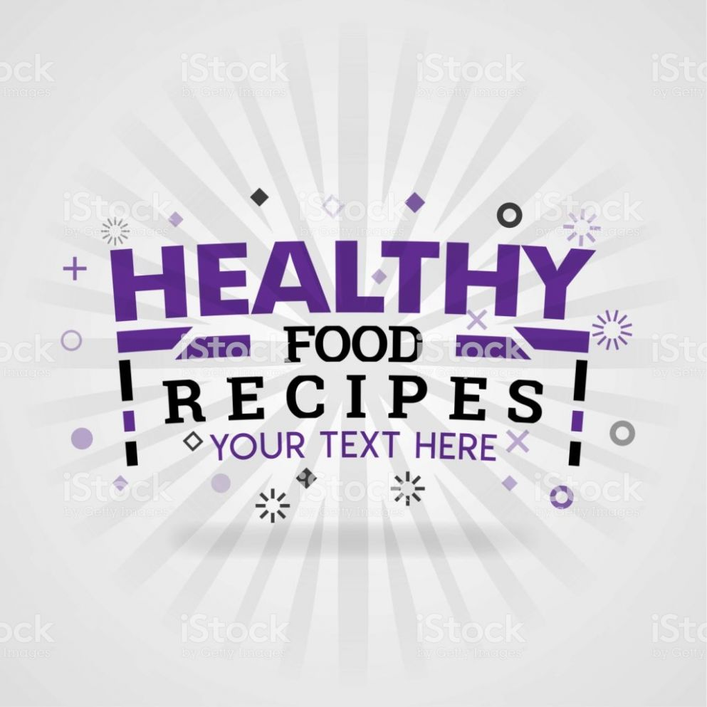 Purple Logo For Healthy Food Recipes For Food Cover App Booking ..