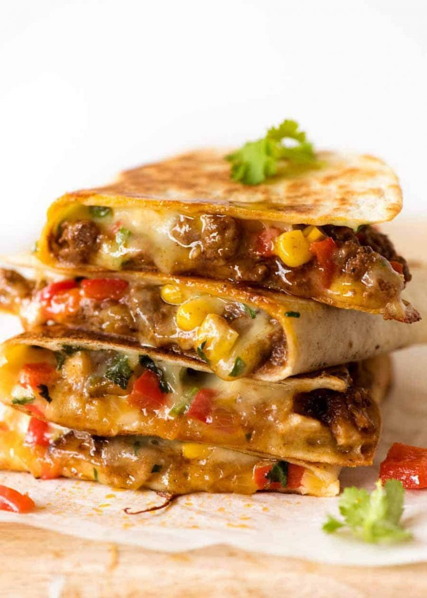 Quesadilla (Beef, Vegetable or Chicken)