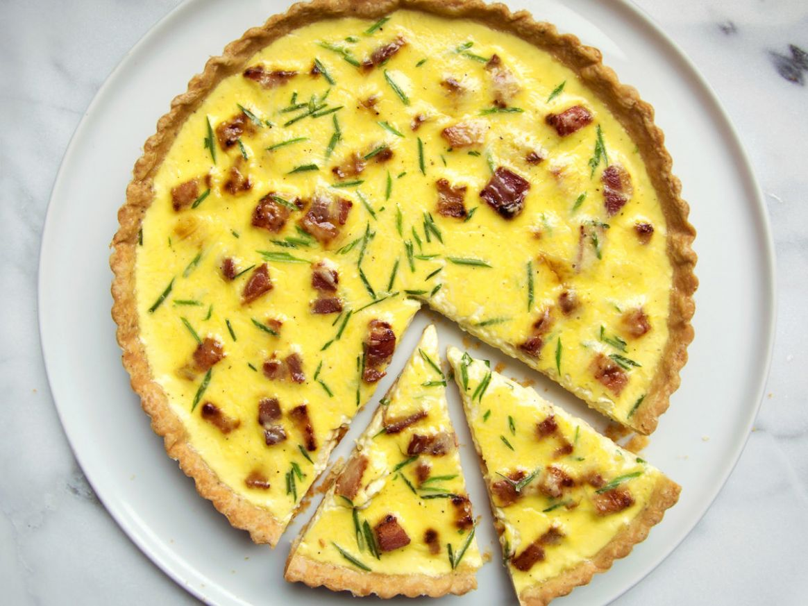 Quiche Lorraine - Food Recipes Quiche