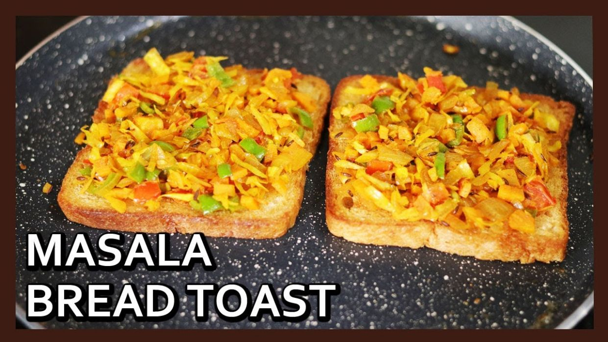 Quick 10 min Bread Breakfast Recipe | Masala Bread Toast | Breakfast Recipe  for Kids | Healthy Kadai