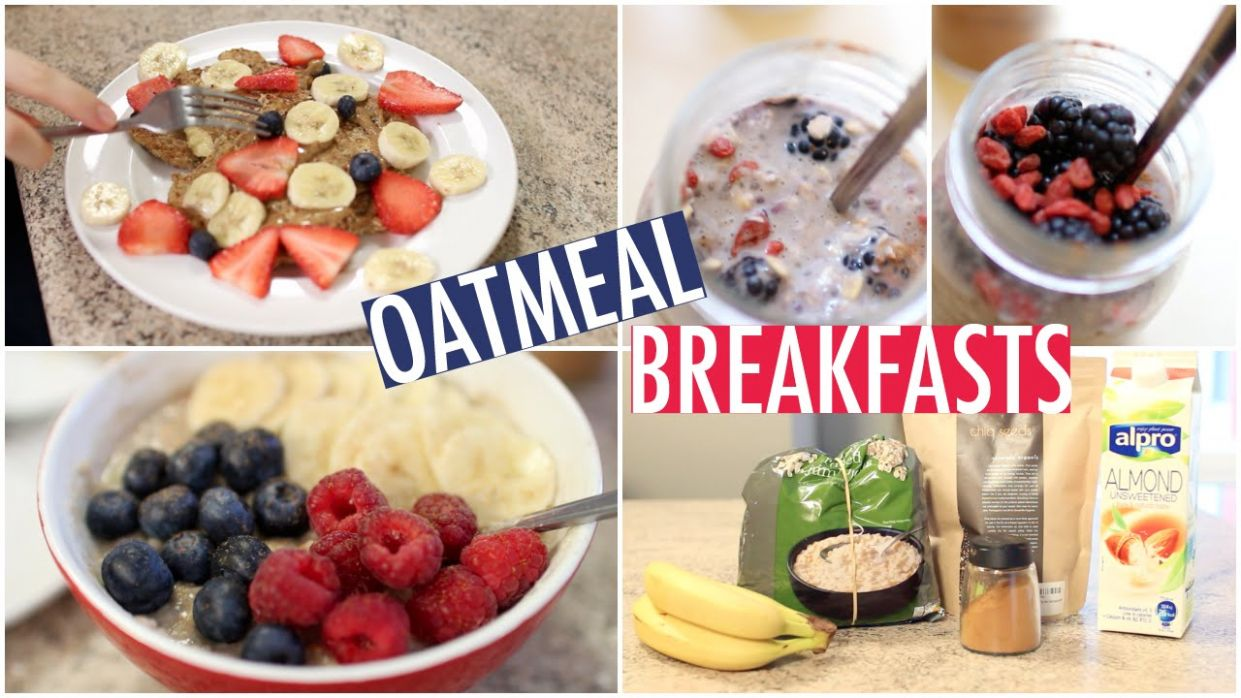 Quick & Healthy Oatmeal Breakfast Ideas! - Breakfast Recipes Using Oats