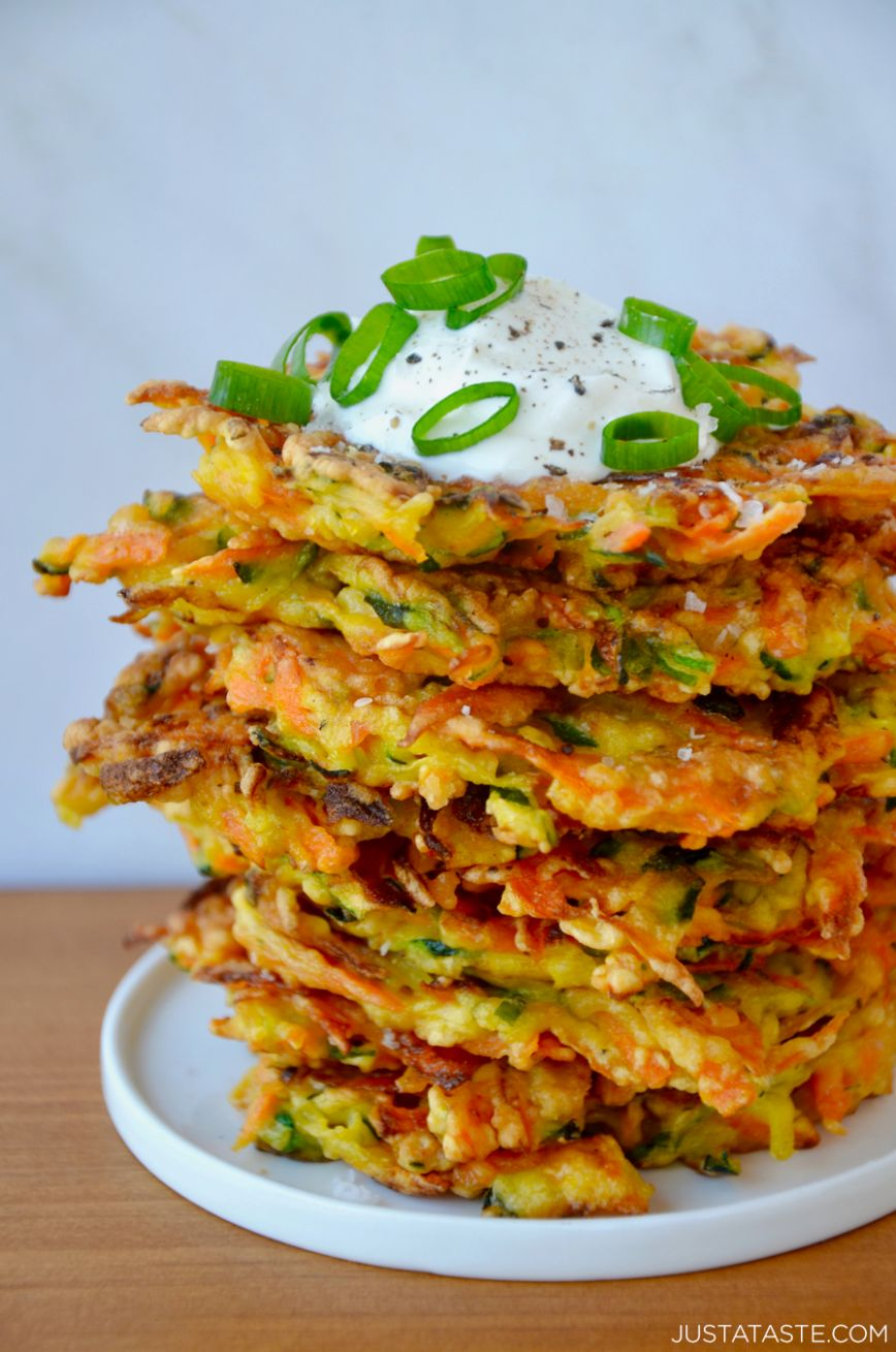 Quick and Crispy Vegetable Fritters - Vegetable Recipes Quick And Easy