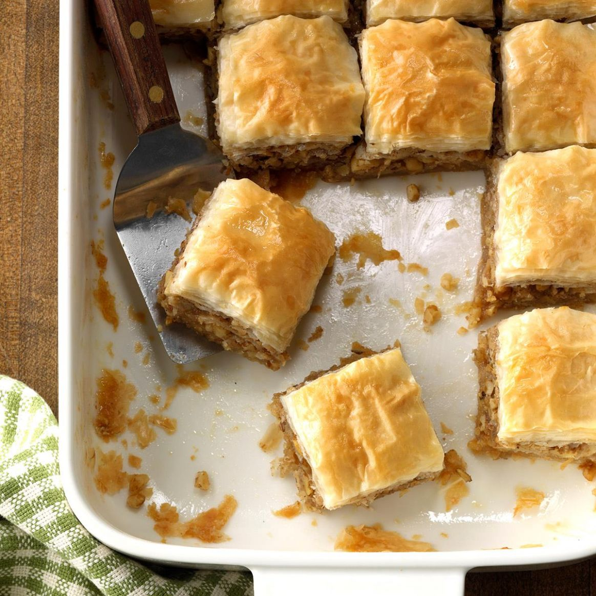 Quick and Easy Baklava Squares - Dessert Recipes Quick N Easy