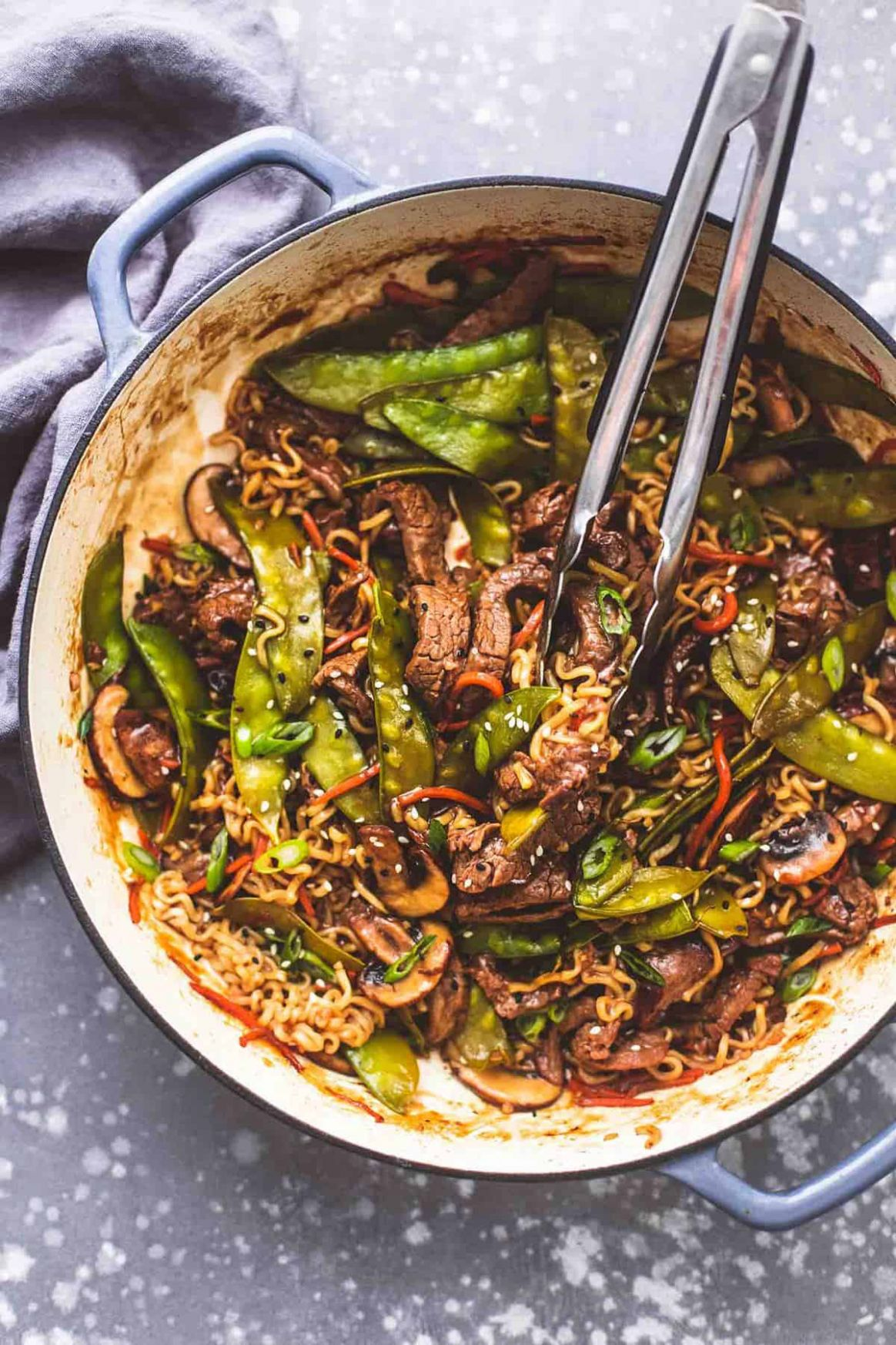 Quick and Easy Beef Noodle Stir Fry - Beef Recipes Quick