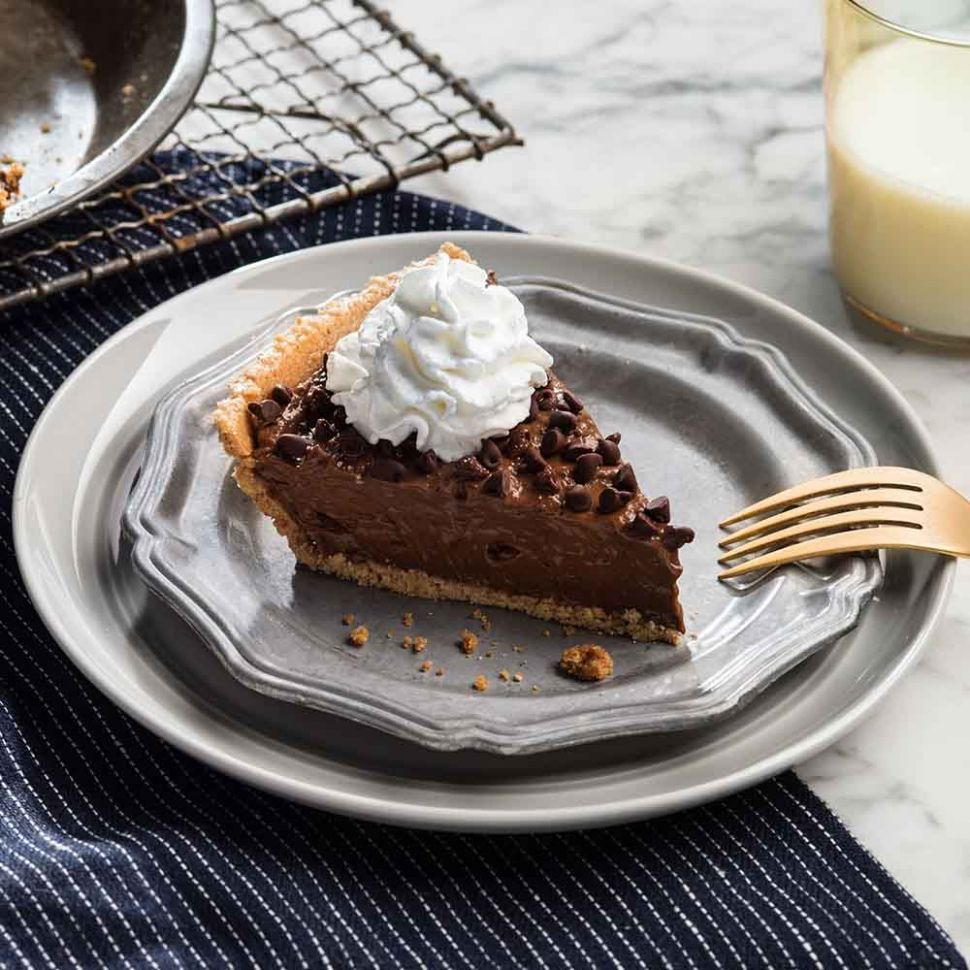 Quick and Easy Chocolate Pie - Chocolate Recipes Quick