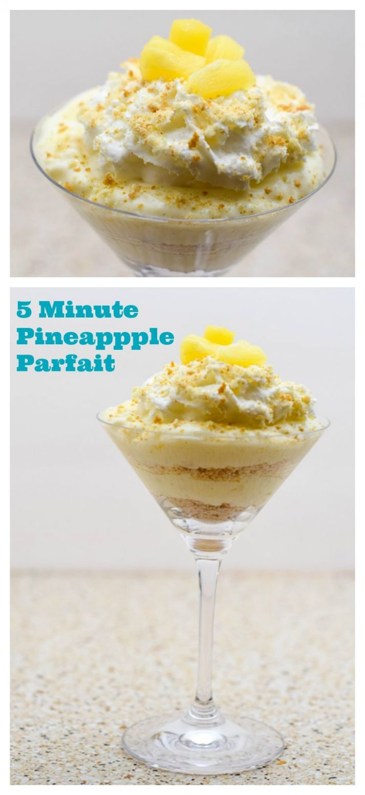 Quick and Easy Dessert : 11 Minute Pineapple Parfait Plus Printable ..