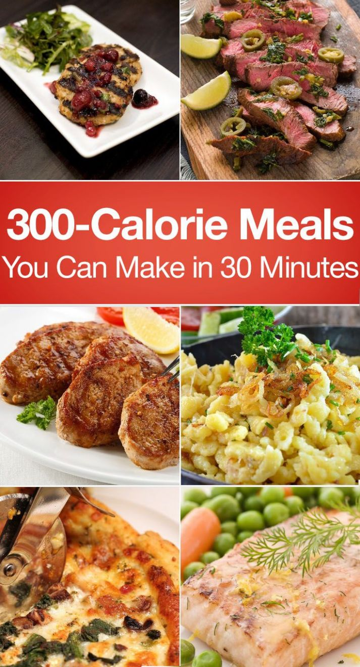 Quick and easy dinners that won't break the calorie bank? We've ...