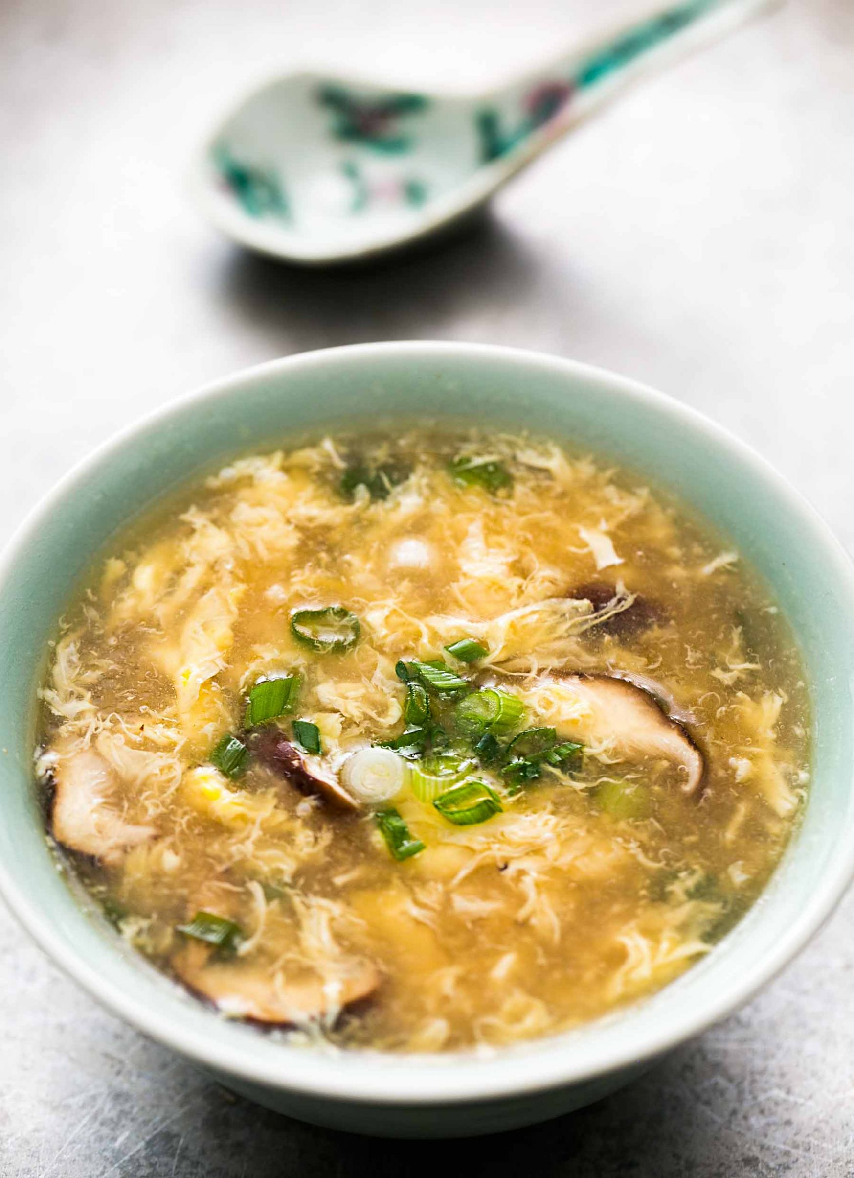 Quick and Easy Egg Drop Soup - Recipe Egg Flower Soup