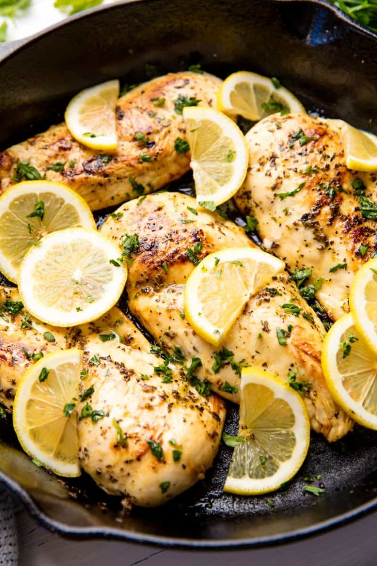 Quick and Easy Lemon Chicken - Recipes Chicken Breast Easy Fast