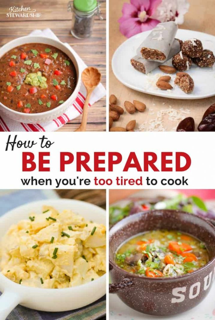 Quick and Easy Meals For When You're Pregnant or Have a Newborn
