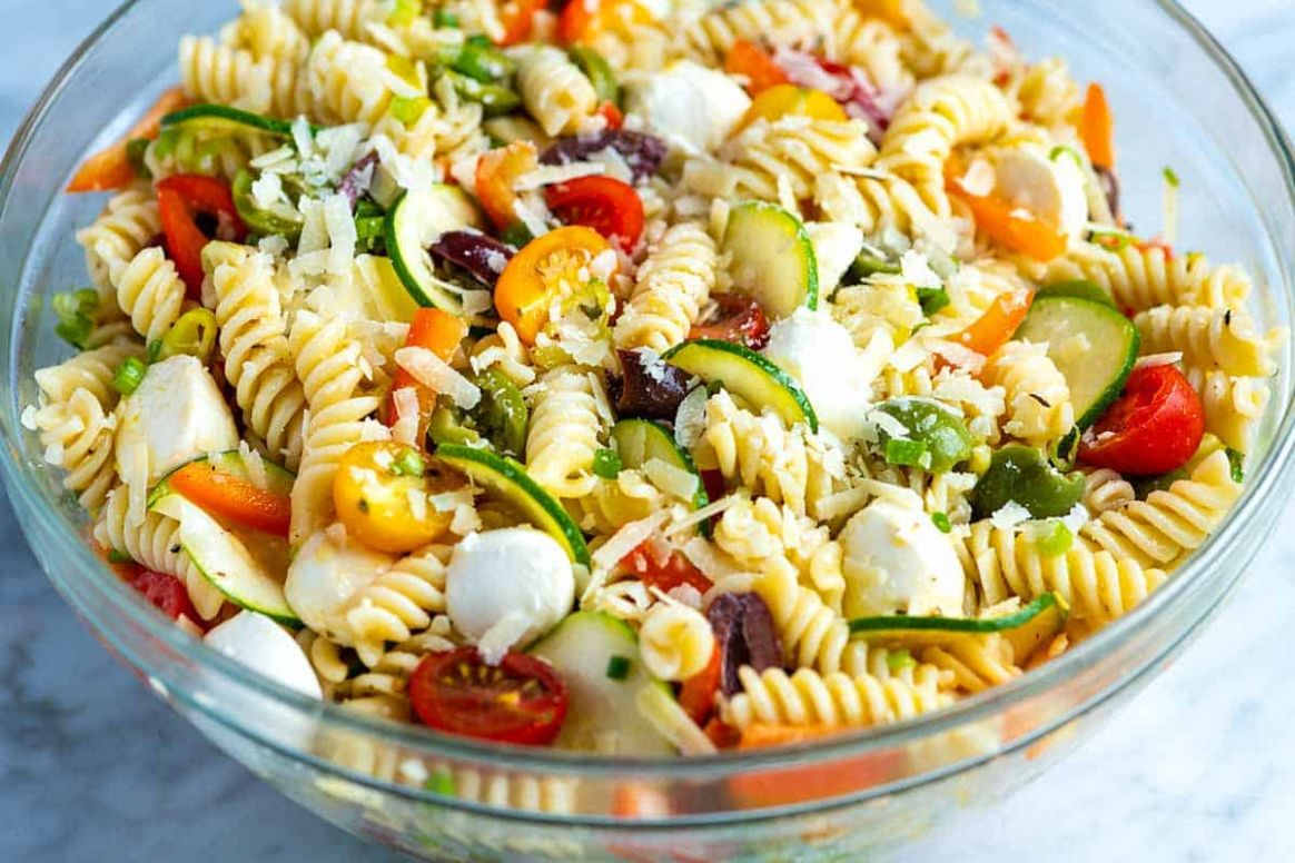 Quick and Easy Pasta Salad - Pasta Recipes Quick And Easy