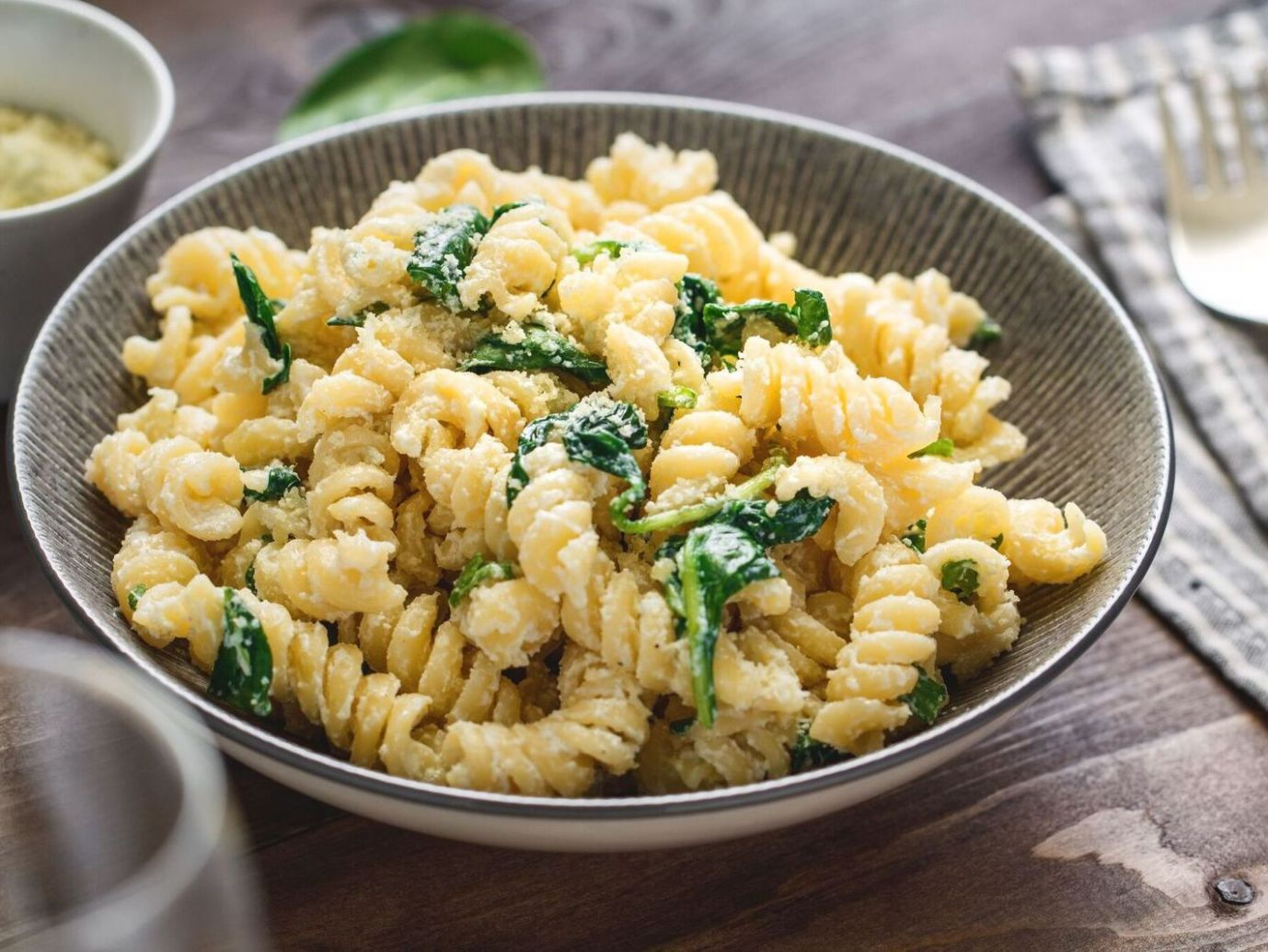 Quick and Easy Vegetarian Pasta With Spinach and Ricotta Cheese - Recipes Vegetarian Pasta