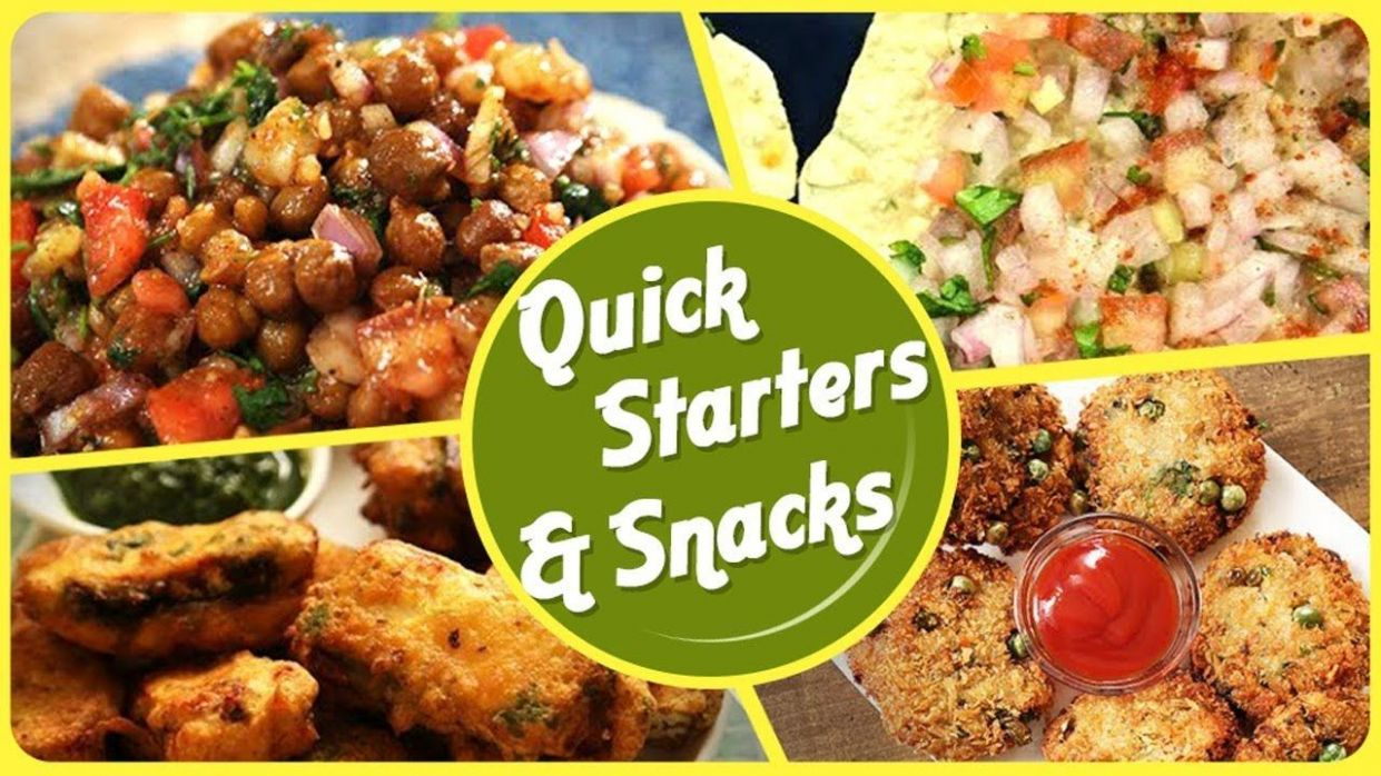 Quick and Healthy Snacks - BEST Starters and Snack Recipes - Easy ..